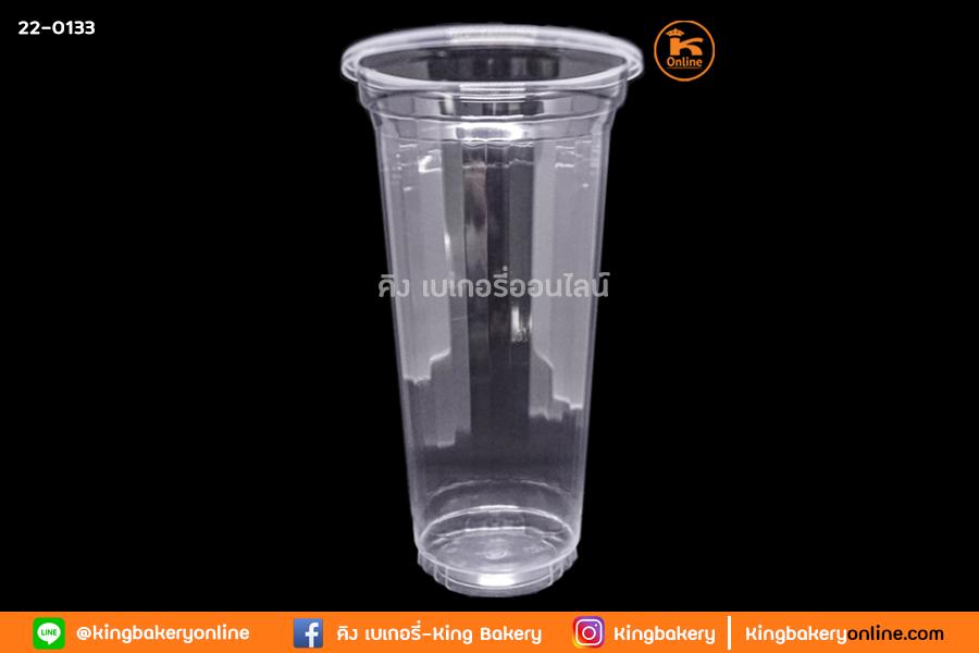 แก้ว PP 18 oz.  ใส มรกต  EPP ปาก 90 (1ลังx20แถว) 50ใบ