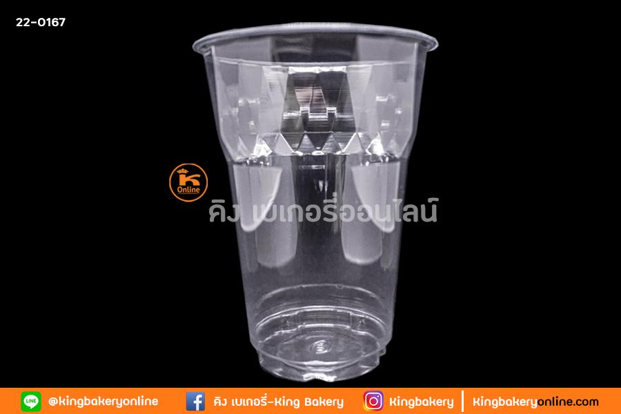 Lแก้ว PET 16 oz.  ไดมอนด์ EPP ปาก 95 (ลังx20แถว)