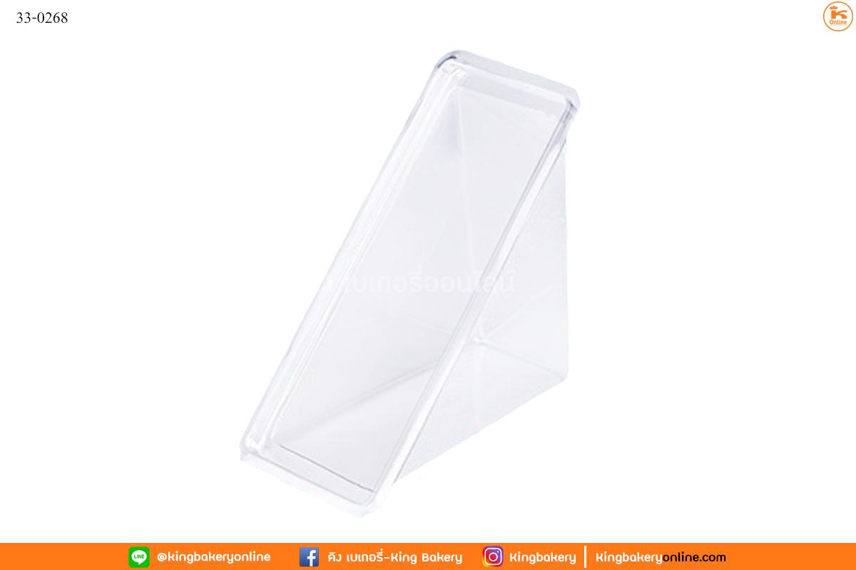 กล่องใสแซนวิชเรียบ(100ใบ)(1ลังx24ห่อ)