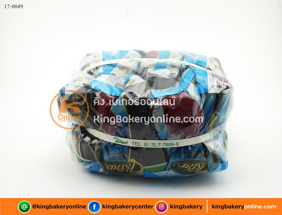 เม็ดแมงลัก ตราไร่ทิพย์ 500 กรัม (1มัดx10ถุง)