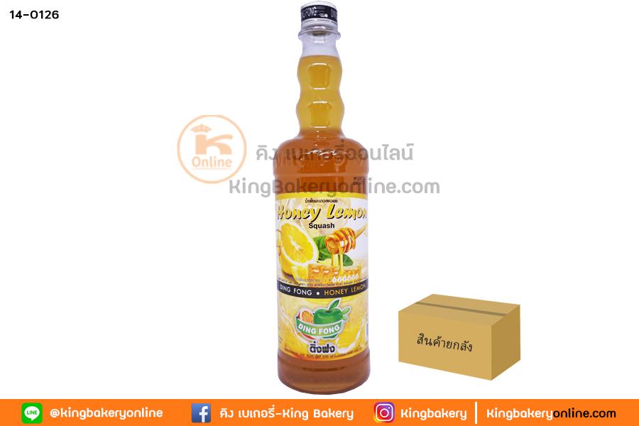 Lน้ำผึ้งมะนาว ตราติ่งฟง (1ลังx12ขวด)