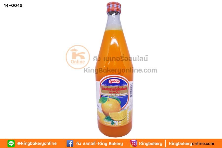 น้ำส้ม ควีน (1ลังx12ขวด)