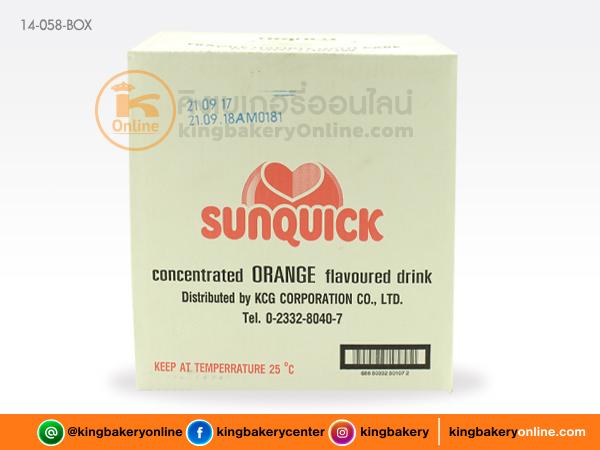 น้ำส้มเข้มข้น ตราซันควิก 840 cc.(1ลังx6ขวด)
